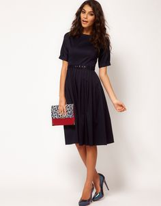 I'd love to find a simple black dress like this