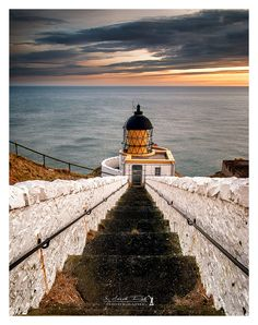 St. Abb's Head Lighthouse is one of the principal lights in Scotland and marks the southern entrance to the Firth of Forth The lighthouse is now fully automated, with the status of the light being remotely monitored from HQ's Northern Lighthouse Board, in Edinburgh.