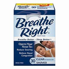 Free Sample Breathe Right Strips 2014