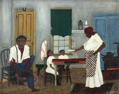 The Saint Louis Art Museum announces the acquisition of Sunday Morning Breakfast, a 1943 painting by the esteemed African-American artist Horace Pippin.