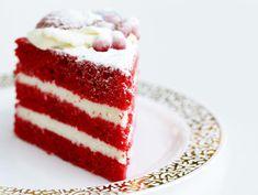 Bolo Red Velvet, Velvet Cake, Deli Food, New Cake, Brownie Cake, Desserts To Make, Sweet Cakes, Food Cravings, Carrot Cake