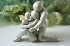 We Were Three Mother Father and Angel Baby by TheMidnightOrange, $50.00