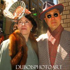 New York Easter Parade Photos: Dapper Duo at New York Easter Parade