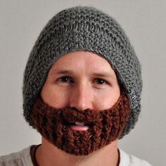 knit beard for my honey:D