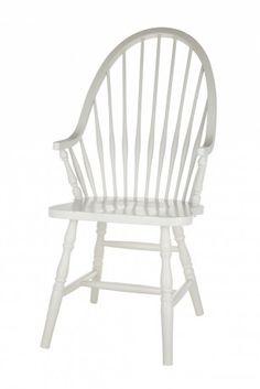 Shaker White Chair £368.40    http://www.homeinteriorsbyhunters.co.uk/shaker-white-chair/#