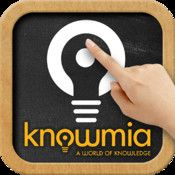 Knowmia Teach is a new free lesson planning and recording tool for teachers. It helps you create short video lessons on any subject and publish them on Knowmia.com so your students and the public can find them. Knowmia Teach makes it easy to bring in visual aids from multiple sources, organize them in steps (like slides in a presentation) and use your own voice and fingers to bring your lesson to life.