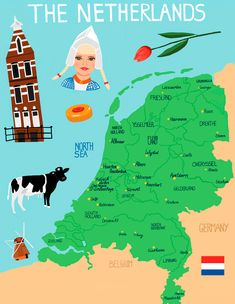 "Dutch heritage- Gerrit Cornelissen Van Nieuwkercke -The Newkirk family left Holland in April 1659 on the ""Moesman"", arriving in New Amsterdam on April Kingdom Of The Netherlands, Holland Netherlands, Haarlem Netherlands, Amsterdam Holland, Amsterdam Travel, Utrecht, Thinking Day, Vintage Travel Posters, Cartography"