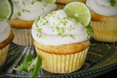 easy KEY LIME PIE CUPCAKES RECIPE