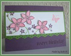 Cottage Garden Happy Birthday Card