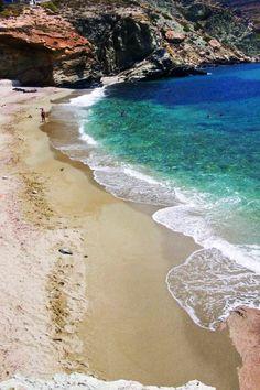 Agali Beach, Folegandros Island #Greece