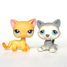 Littlest Pet Shop Ranch Cat 339 LPS POPULAR Brooke Hayes Husky 70 Malcolm #Hasbro