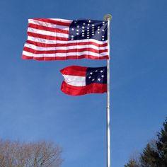 #Repost @michek56  #33star #fortsumter #garrison storm #flag from #american #civilwar with #firstnational #confederateflag. #flag #flagpole #flaghistory #flagsoftheus #flagsofamerica #usa #csa #starsandbars #starsandstripes #usflag #flags #confederacy #ushistory #americanhistory #americanflag #flagcollection