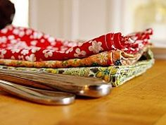 No-Cut DIY Cloth Napkins