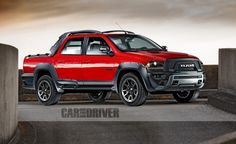 2017 Ram Rampage: A Front-Drive-Based Dodge Dakota Redux - Photo Gallery of Feature from Car and Driver - Car Images - Car and Driver