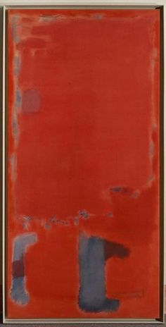 Mark Rothko, No 21, 1949, Oil and acrylic with powdered pigments on canvas, 80 x 39 3/8in. (203.2 x 100cm)