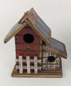 Craft Outlet Picket Fence Bird House | zulily