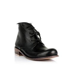 KACHOROVSKA / black leather boots