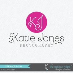 Premade Photography Logo and Watermark Design  by TheAutumnRabbit, $30.00