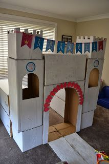 The DIY Cardboard castle