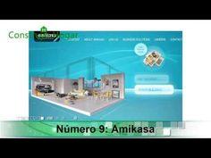 Planos de casa pequeña de 42 metros cuadrados House Floor Plans, Tiny House, Casas Ideas, Flooring, How To Plan, Home, 2d, Gardens, Split Level Home
