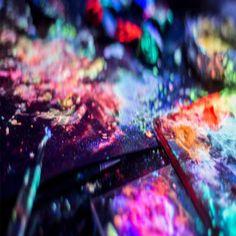 pintura que brille en la oscuridad