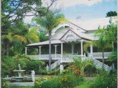 The home was commissioned to be built in 1890 by the Rankin family, wealthy… Private Property, Property For Sale, Commercial Farming, Brooklyn House, Queenslander, Beautiful Family, Future House, Townhouse, Gazebo