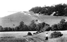 Reigate, Pilgrims Way 1906, from Francis Frith