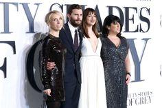 Jamie Dornan Dakota Johnson On The Grey Carpet At The Fifty Shades Of Grey Uk
