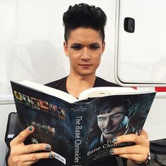 Harry Shum Jr. reading The Bane Chronicles. This is Awesome!!!!!