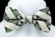 Michigan State University Plaid Mens Bow Tie Adjustable College Gift Bowtie New #EaglesWings #BowTie
