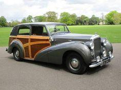 1947 Bentley Mk VI Shooting Brake Bentley For Sale, Bentley Car, Bentley Motors, Retro Cars, Vintage Cars, Antique Cars, Shooting Break, Volkswagen, Classic Cars