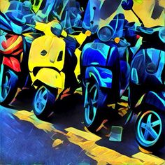 Due to cost of living, small streets, and a total inability to find inexpensive parking, Paris is a city of bikes. I was taking photos of all the interesting and vintage motorcycles I came across a… A Gear, Paris City, Vintage Motorcycles, Bike Life, Paris France, Vespa Motorcycle, Colours, Switzerland, Instagram Posts