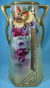 Royal Nippon Nishiki Porcelain Vase Art Nouveau Deco | eBay