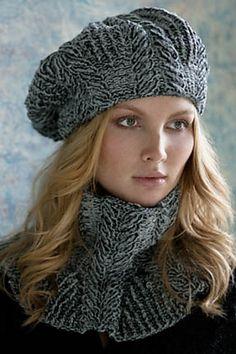 Ravelry: Sandra Cabled Cowl pattern by Irina Poludnenko - chenille 16