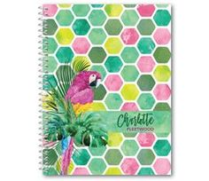 Personalised Journal or Notebook - Boho Sexagon