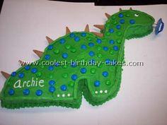 Dinosaur Birthday Cakes