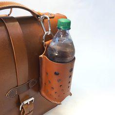 3-In-1 Leather Bottle Holder Holster 750ml