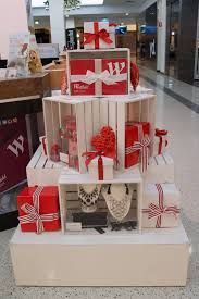 Table Display Ideas half tables used as display shelves Image Result For Christmas Focus Table Displays Visual Merchandising