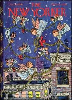 Vintage Christmas - William Steig for NewYorker_1964-