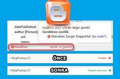 Guney59 Paylaşım : Blogger Şablon Kodlarında Headline Hata İletisinin...