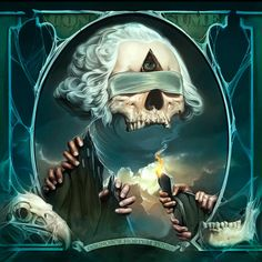Money Tattoo, Demon Art, Skull And Bones, Skull Art, Graffiti Art, Art Drawings, Horror, Animation, Artist
