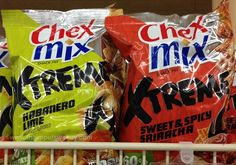 SPOTTED ON SHELVES - Chex Mix Xtreme Sweet & Spicy Sriracha and Habanero Lime