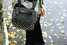 Studded Free People purse
