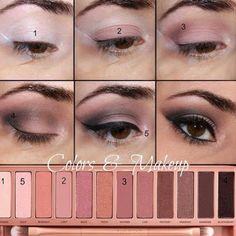 Here's a neutral look that can totally make you look fab. Follow this detailed how-to and discover the must have palette to achieve this night out ready look.