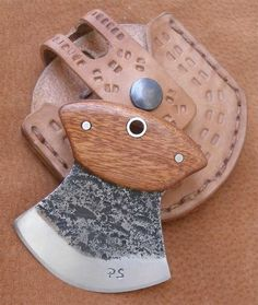 This Photo was uploaded by beowulf_pt. Ulu Knife, Blacksmithing Knives, Knife Patterns, Hand Forged Knife, Green Woodworking, Case Knives, Neck Knife, Best Pocket Knife, Handmade Knives
