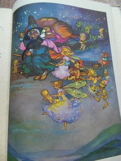 'Peg's Fairy Book', illustrated by Peg Maltby