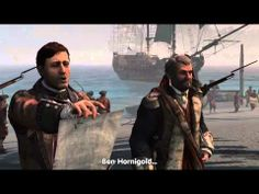 Trailer Assassin's Creed IV onde se passa no Caribe durante a era de ouro da pirataria.