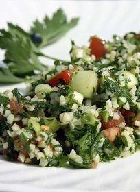 Scrumpdillyicious: Lebanese Tabbouleh Salad