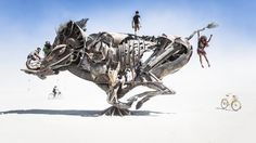 Jaw-dropping art and structures at the annual bacchanal in the Nevada desert.