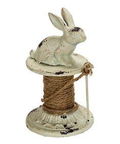 Bunny Twine Figurine